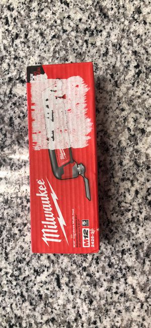 Brand New Milwaukee M12 Cordless Multi-tool for Sale in Revere, MA