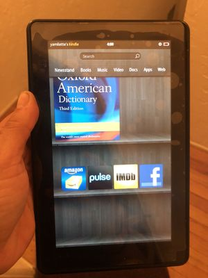 Kindle fire HD for Sale in San Diego, CA