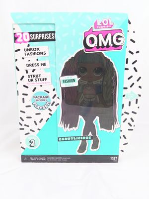 BRAND NEW - LOL Surprise OMG Series 2 Candylicious Fashion Doll O.M.G. for Sale in Chandler, AZ
