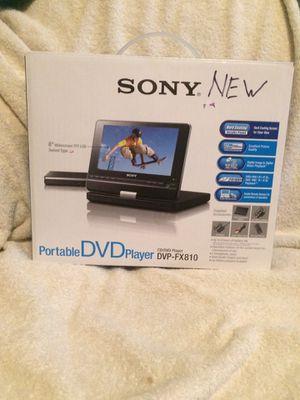 Sony Portable DVD Player Model DVP-FX810 (Brand New) for Sale in Fairfax, VA
