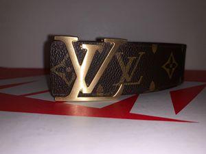 Louis Vuitton Belt (Brown) size (42/150) for Sale in FL, US