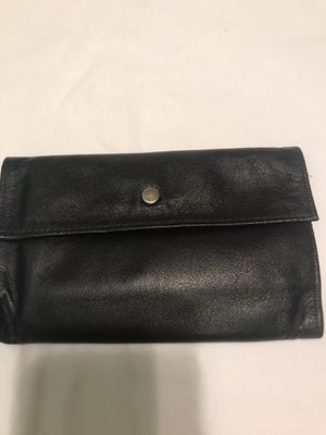 Black Leather Wallet for Sale in Sun Lakes, AZ