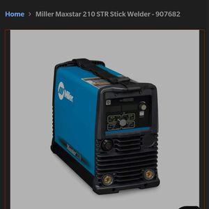 Miller Maxstar Str 210 Stick Welder for Sale in Seattle, WA