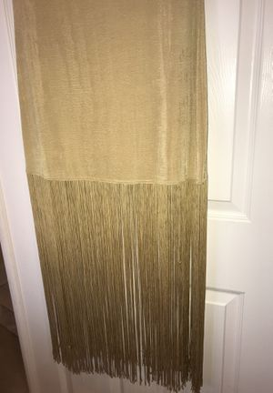 Gold Fringe Dress for Sale in Highland, MD