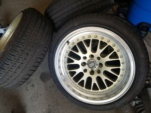 4 wheels and tires civic miata 4x100 16x8 for Sale in Los Angeles, CA