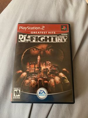 Def Jam fight for ny ps2 for Sale in Moreno Valley, CA