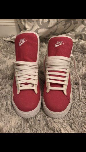 Pink Glitter Nike Sneakers - size 8 for Sale in Boston, MA