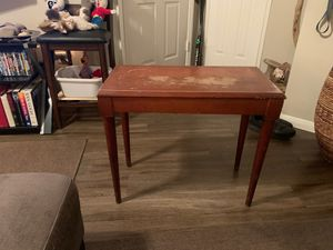 Antique cherry piano bench for Sale in Henderson, NV