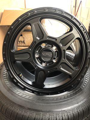 """17"""" KMC Rims and Bridgestone Tires for Sale in Anaheim, CA"""
