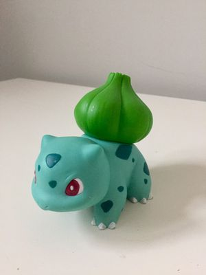 "Bulbasaur Pokemon Tomy 1999 DX Vinyl Large 5"" Figure Toy Japan for Sale in Ashburn, VA"