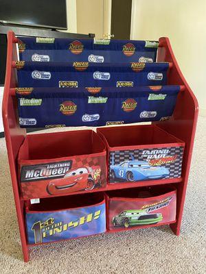 Bookshelf with toys organizer for kids for Sale in Oakton, VA