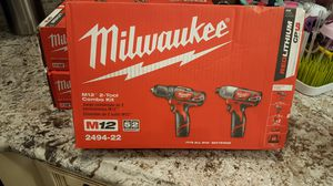 Milwaukee set drill driver for Sale in Queens, NY