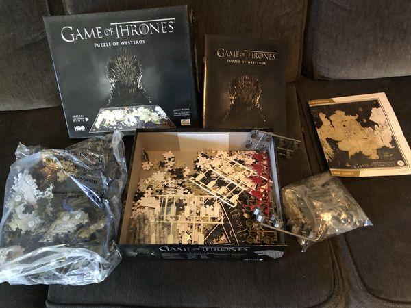 GOT Game of Thrones puzzle 4d