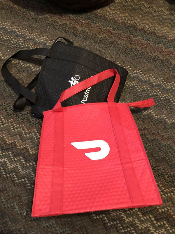 Postmates/ Grubhub bags, delivery bags