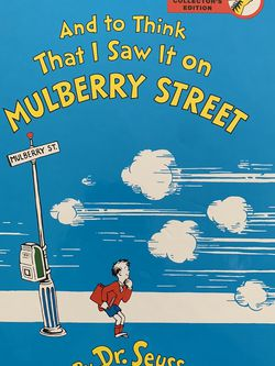 And To Think That I Saw It On Mulberry Street by Dr Seuss 2010 Kohl's Cares for Sale in New York,  NY