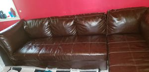 Two piece sectional couch barely used! for Sale in Grosse Pointe Park, MI