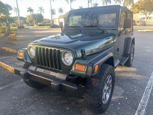 1997 Jeep Wrangler for Sale in Pompano Beach, FL