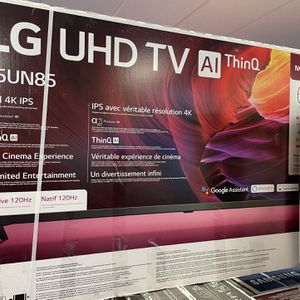"""Early Black Friday Deals!!! LG 65"""" Smart 4K UHD HDR Thin Q TV for Sale in Hesperia, CA"""