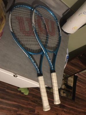 Pair of tennis rackets for Sale in Garden City, MI