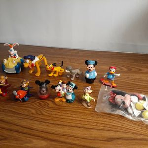 Vintage Disney Character Figurines From The 1970's - 1990's -$5 Each for Sale in Elk Grove Village, IL