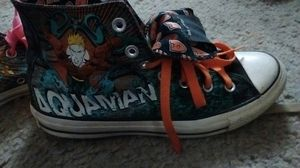 Converse DC comic Aquaman for Sale in Cleveland, OH