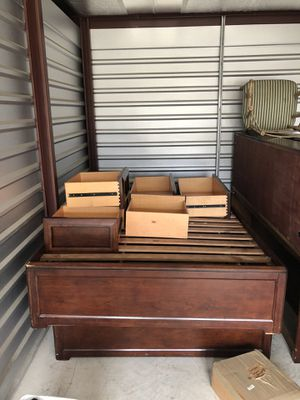 2 full size bed frames and 2 headboards for Sale in PA, US