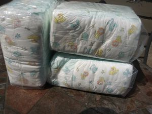 Budget size 5 baby diapers 20 in each package for Sale in Ontario, CA