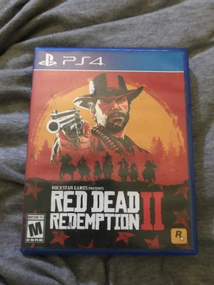 Red dead redemption ps4 for Sale in Fort McDowell, AZ