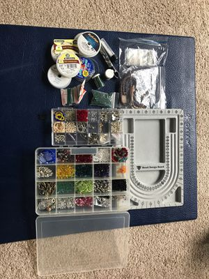 Swarovski beads and Jewelry making supplies for Sale in Leesburg, VA