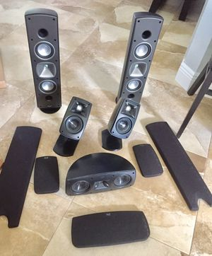 Klipsch 5 Quintet Speakers with Brackets & Grills! for Sale in Coral Gables, FL