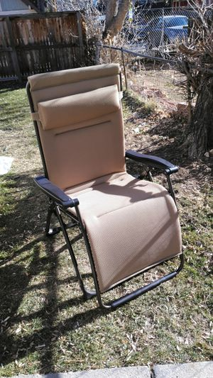 Reclining Lounge Chair (Brand new) for Sale in Denver, CO