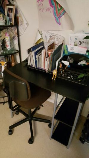 Desk and chair for Sale in Severn, MD