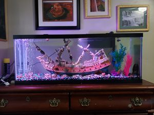 45 gallon fish tank long for Sale in Layton, UT