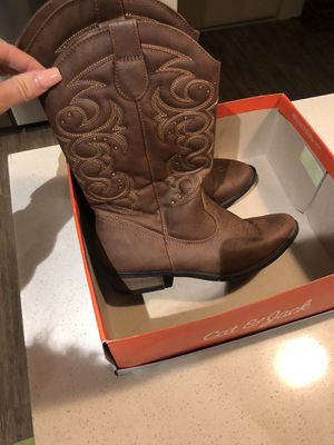 Cat and Jack Brown New Cowboy Boots for Sale in Chandler, AZ