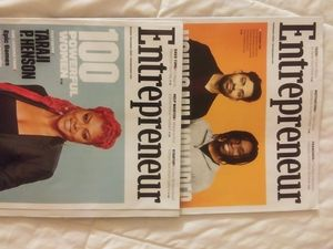 """Two """"Entrepreneur"""" Magazine Issues 2020 for Sale in Massillon, OH"""