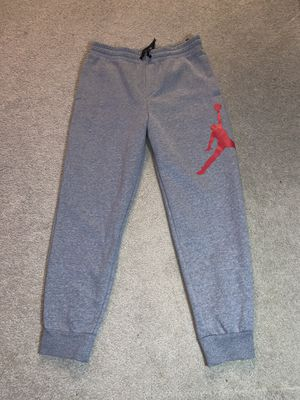 Air Jordan men's M grey joggers NWT for Sale in Olympia, WA