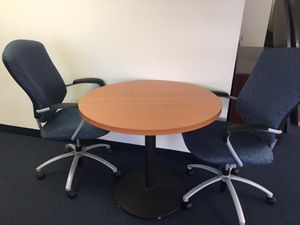 Brown Round Table for Sale in Silver Spring, MD