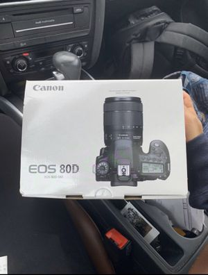 Canon 80D for Sale in Rancho Cucamonga, CA