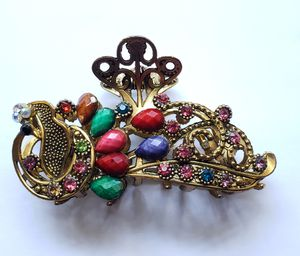 Women's Gem Peacock Hair Claw Clips Multi-colors New Accessories for Sale in Melbourne, FL