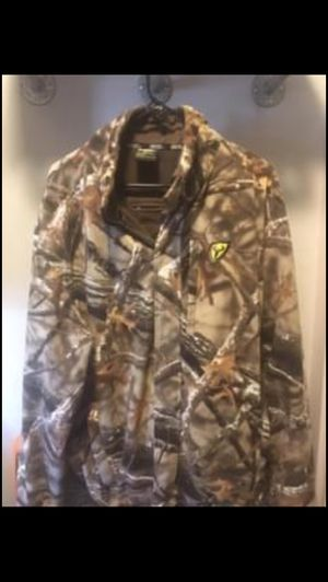 Camo Hunting Jacket Scent Blocker XL for Sale in Young, AZ