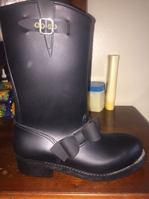 Used, Red Valentino Moto Rain Boots for Sale for sale  Brooklyn, NY