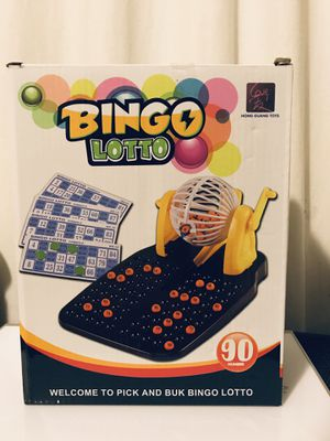 Small Bingo Lotto Game for Sale in Tukwila, WA