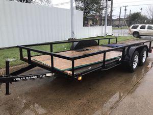 Utility Trailer 6.4 x 18 (traila) for Sale in Dallas, TX