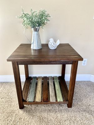 Brown end table nightstand side table set of two for Sale in Roseville, CA