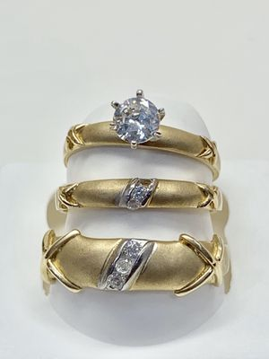 14k gold wedding ring made in Italy ( item#MMR03) for Sale in Dallas, TX