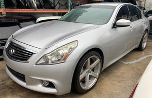 2007 2008 2009 2010 2011 2012 2013 2014 2015 INFINITI G37 G35 G25 Q40 SEDAN ALL PART OUT for Sale in Fort Lauderdale, FL