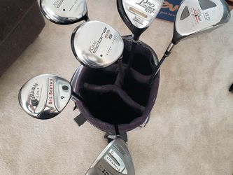 Golf Club Fairway Woods (Titlest, Callaway, King Cobra) for Sale in Wadsworth,  IL