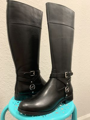 Michael Kors Black Boots for Sale in Tampa, FL