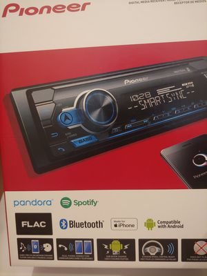 Car stereo : Pioneer. Digital media receiver with Bluetooth usb aux input mosfet 50w×4 ( no cd player ) for Sale in Santa Ana, CA