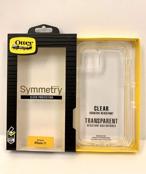 Clear & Transparent OtterBox Symmetry for iPhone 11, 11 PRO & 11 PRO MAX. for Sale in Norco, CA